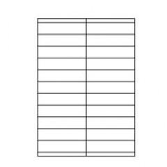 Etilaser 22 etik/blad 105x25.4 200bl/d