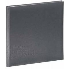 Gastenboek Pagna europe 24,5x24,5cm grijs