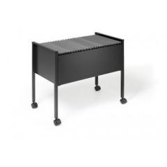 Hangmappenwagen Durable Economy 80 A4 zwart