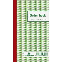 Orderboek Exacompta 17,5x10,5 3-voud gelijnd