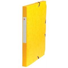 Elastobox 5 Star A4 karton 2,5cm geel