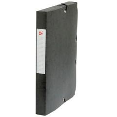 Elastobox 5 Star A4 karton 4cm zwart