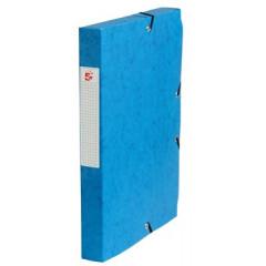 Elastobox 5 Star A4 karton 4cm donkerblauw