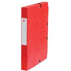 Elastobox 5 Star A4 karton 4cm rood