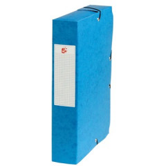 Elastobox STAR A4 karton 6cm donkerblauw