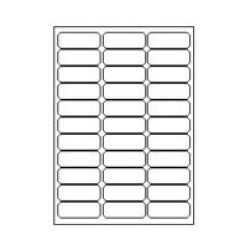 Etilascop 33 etik/blad 65x25,4 100bl/d