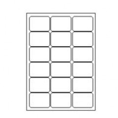 Etilascop 18 etik/blad 63,5x46,6 100bl/d