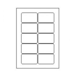 Etilascop 10 etik/blad 80x50,8 100bl/d
