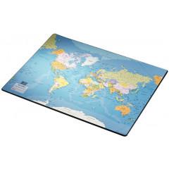Onderlegger wereld 40x53 frans