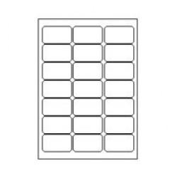 Jetlascop 21 etik/blad 63.5x38.1 100bl/d