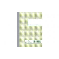 Orderboek geruit NCR 2-v 14,8 x 10.5 cm