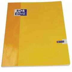 Schrift Oxford School karton A4 commercieel geruit 72blz assorti