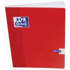 Schrift Oxford School karton A5 geruit 120blz assorti