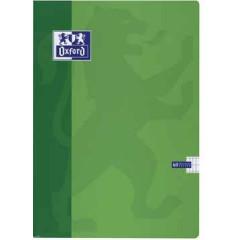 Schrift Oxford School karton A4 commercieel geruit 120blz assorti