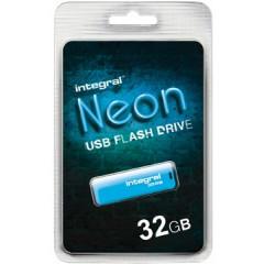 USB-stick Integral Neon 2.0 32GB blauw