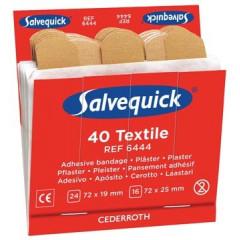 Navulling voor pleisterautomaat Salvequick 40 elastische pleisters (6)
