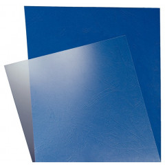 Schutblad Leitz PVC A4 180 micron transparant (100)