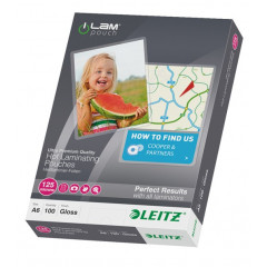 Lamineerhoes Leitz iLam A6 125µ glanzend (100)