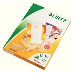 Lamineerhoes Leitz iLam A4 125µ glanzend (100)