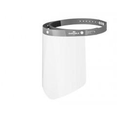 Gelaatscherm Durable CE-conform grijs