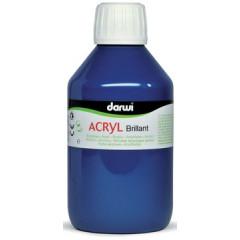 Acrylverf Darwi glanzend 250ml ultramarijn blauw