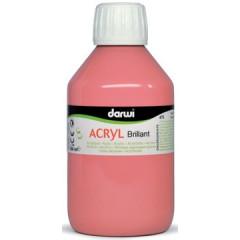 Acrylverf Darwi glanzend 250ml roze