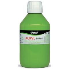 Acrylverf Darwi glanzend 250ml lichtgroen