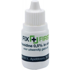Ontsmettingsmiddel Fixfirst op basis van alcohol 10cc