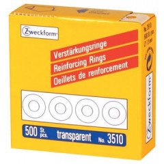 Versterkingsring Avery Ø13mm transparant (500)