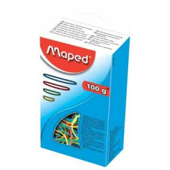 Elastieken Maped 100gr assorti