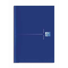 Notitieboek Oxford Office Original Blue karton A5 gelijnd 192blz