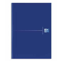 Notitieboek Oxford Office Original Blue karton A4 gelijnd 192blz