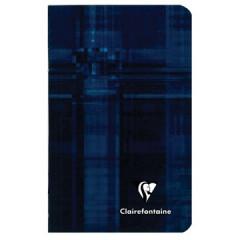 Notitieboek Clairefontaine metric 7,5x12cm gelijnd assorti