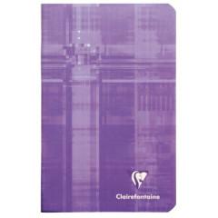 Notitieboek Clairefontaine metric 11x17cm gelijnd assorti