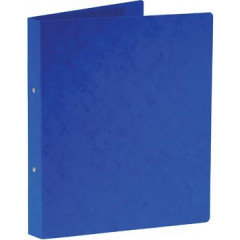 Ringmap Bronyl karton A4 2 O-ringen 25mm rug 3,5cm blauw