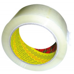 Verpakkingstape Scotch 371 PP 50mm x 66m transparant