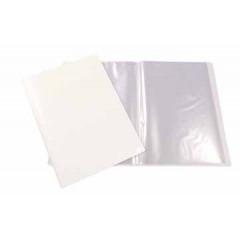 Showalbum STAR PP A4 20 tassen personaliseerbaar wit