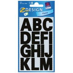 Etiketvel Avery Z-design Home letters 25mm weer- en waterbestendig zwart (2)