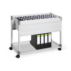Hangmappenwagen Durable system 100 multi met legplank grijs (D378510)