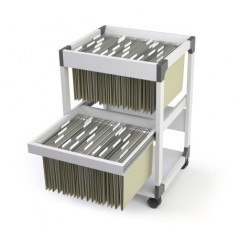 Hangmappentrolley Durable 80 Multi Duo grijs