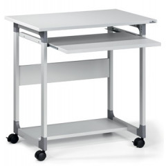 Computertrolley Durable system 75FH grijs (379610)