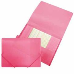 Elastomap Beautone 3 kleppen PP A4 roze