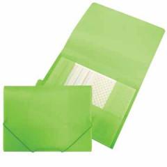 Elastomap Beautone 3 kleppen PP A4 groen