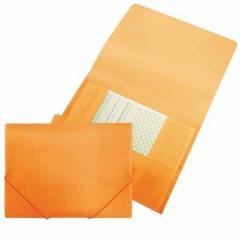 Elastomap Beautone 3 kleppen PP A4 oranje