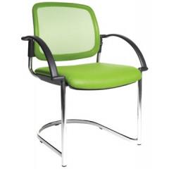 Bezoekersstoel Topstar open chair 30 groen