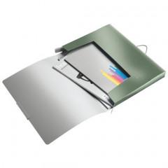 Elastobox Leitz style A4 PP 2,5cm zeegroen