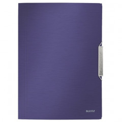 Dossiermap Leitz Style PP A4 3-kleppen titanium blauw (3977069)