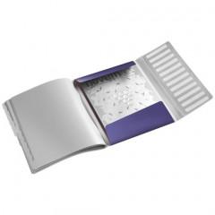 Sorteermap Leitz Style PP A4 12-vaks titanium blauw