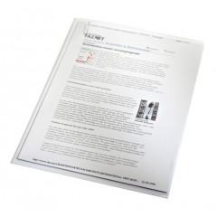 Zichtmap Leitz PP A4 130µ gekorreld transparant (100) (4000003)