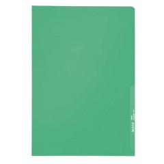 Zichtmap Leitz PP A4 130µ gekorreld transparant groen (100)